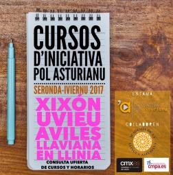 Matricúlate nos cursos d'Iniciativa pol Asturianu pa esta seronda-iviernu 2017
