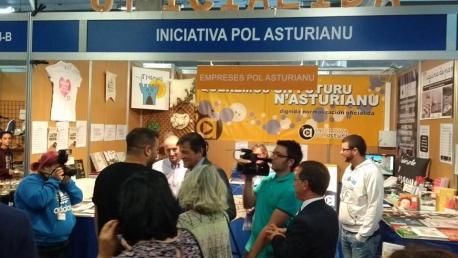 Iniciativa pol Asturianu va tornar a la FIDMA