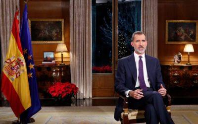 Un añu más el Rei Felipe VI escaez l'asturianu al facer usu de les llingües d'España pa felicitar les fiestes nel so discursu institucional de Navidá